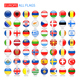 Glossy Round Flags of Europe - GraphicRiver Item for Sale