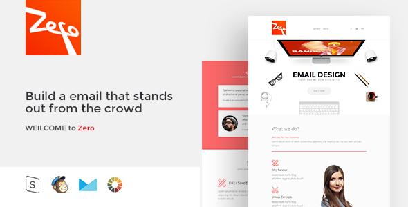 Zero – Responsive Email Template