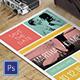 Modern Postcard Invitation - GraphicRiver Item for Sale