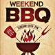 Weekend BBQ Flyer & FB Cover - GraphicRiver Item for Sale