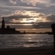 Quay In Venice. Sunset In The Bay Of San Marco. - VideoHive Item for Sale
