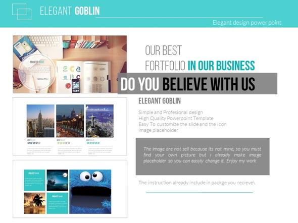 Elegant Goblin  - Business PowerPoint Templates