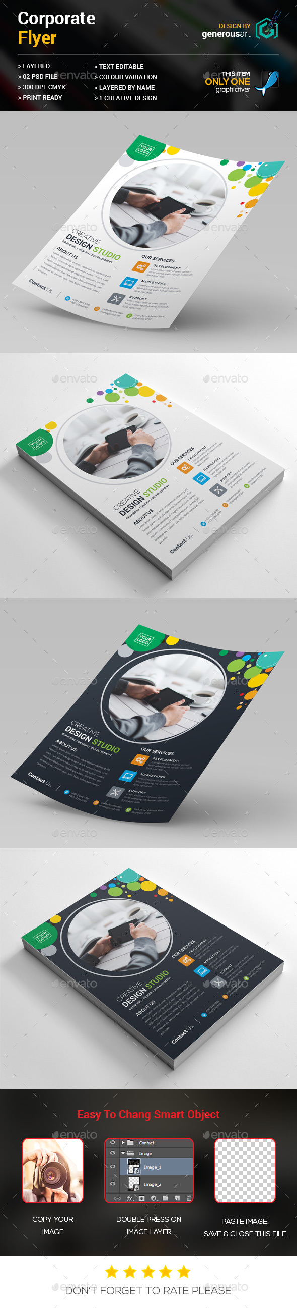 Colorful Flyer - Corporate Flyers
