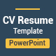 Simple Resume CV Presentation - GraphicRiver Item for Sale