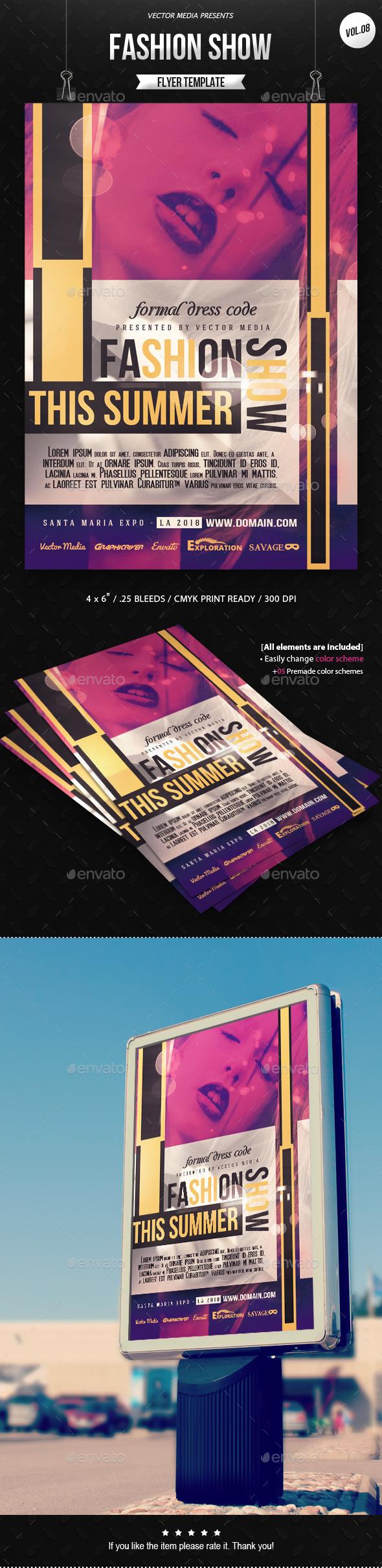 Fashion Show - Flyer [Vol.08] - Miscellaneous Events