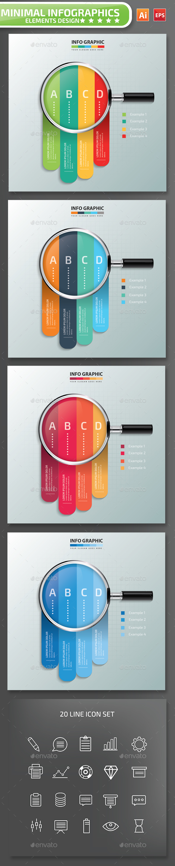 Searching Infographics Design 01 - Infographics