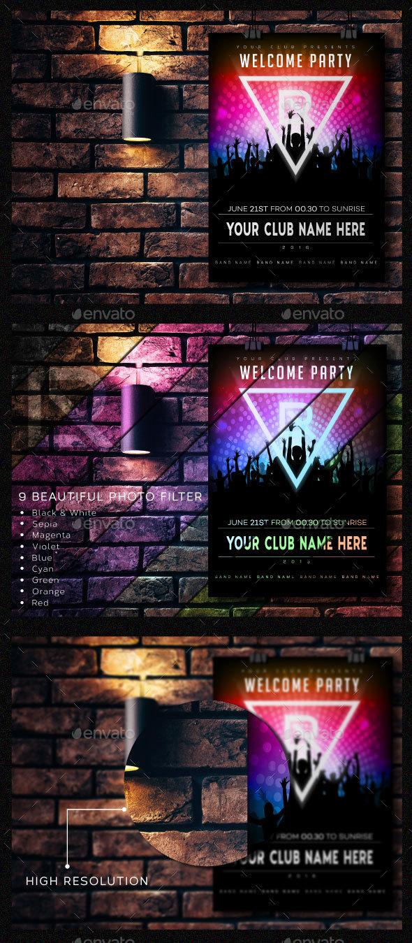 Poster Mock-up Vol.1 - Posters Print