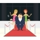 Fat Famous Man with His Thin Girlfriends - GraphicRiver Item for Sale