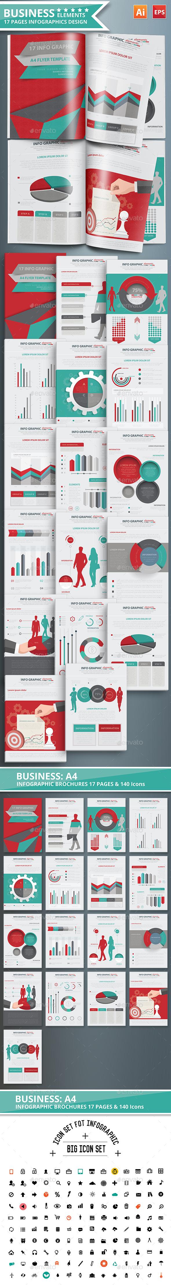 Business Infographic Design Scheme 02 - Infographics