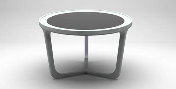 trinity table 60x38 cm - 3DOcean Item for Sale