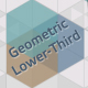 Geometric Lower-Third - VideoHive Item for Sale