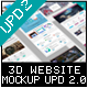 3D Website Display Mockup - GraphicRiver Item for Sale