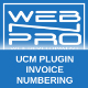 UCM Plugin: Invoice Numbering - CodeCanyon Item for Sale