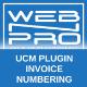 UCM Plugin: Invoice Numbering