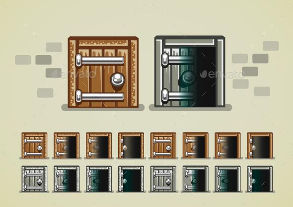 Castle Doors - Miscellaneous Conceptual