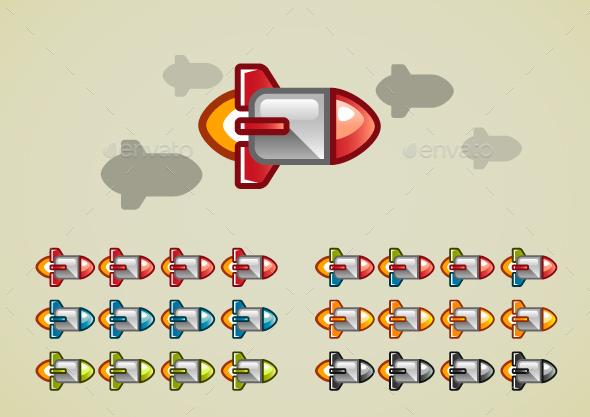Rockets - Decorative Symbols Decorative