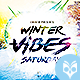 Winter Vibes Saturdays Flyer - GraphicRiver Item for Sale