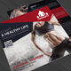 Gym and Fitness Square Trifold Brochure - GraphicRiver Item for Sale