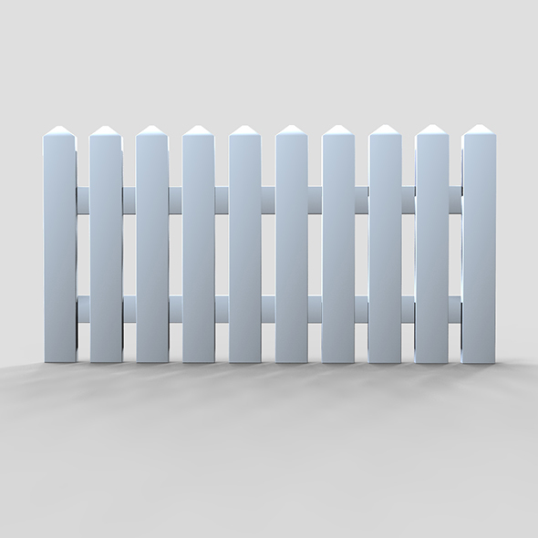 Barriere Fence - 3DOcean Item for Sale