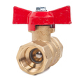 Ball valve with red handle - PhotoDune Item for Sale