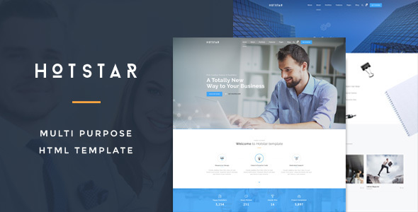 HotStar – Multi-Purpose Business Theme