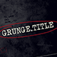 Grunge Movie Opener - VideoHive Item for Sale