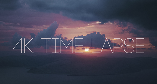 4k Time Lapse