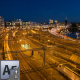 Stockholm Central Rail Station at Night - VideoHive Item for Sale