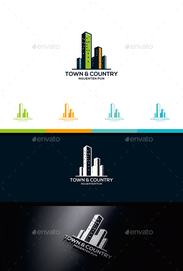 Town & country - Logo Templates