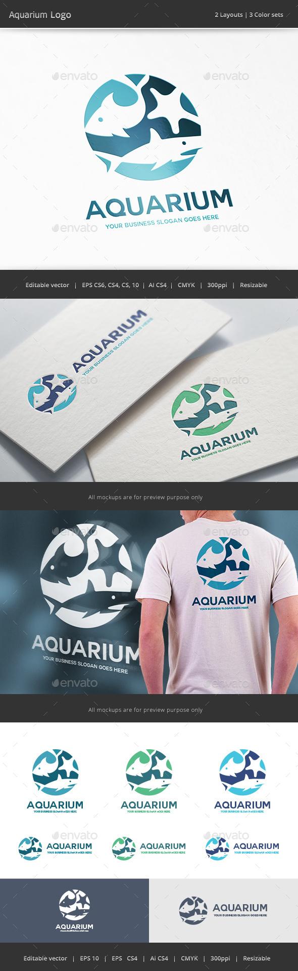 Aquarium Logo - Animals Logo Templates