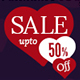 Valentine's Day Sale Banner - GraphicRiver Item for Sale