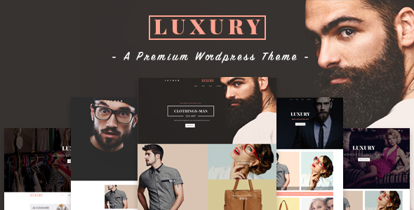 Luxury – Responsive WordPress Theme