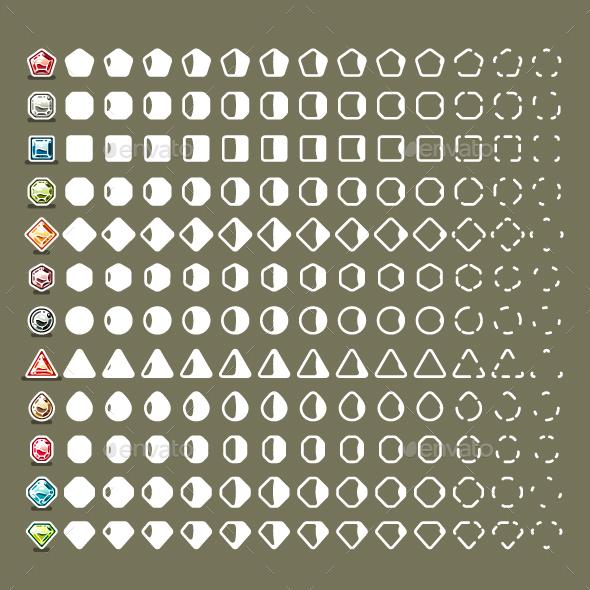 Gems Collision - Miscellaneous Vectors