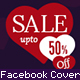 Valentine's Day Sale Facebook Cover - GraphicRiver Item for Sale