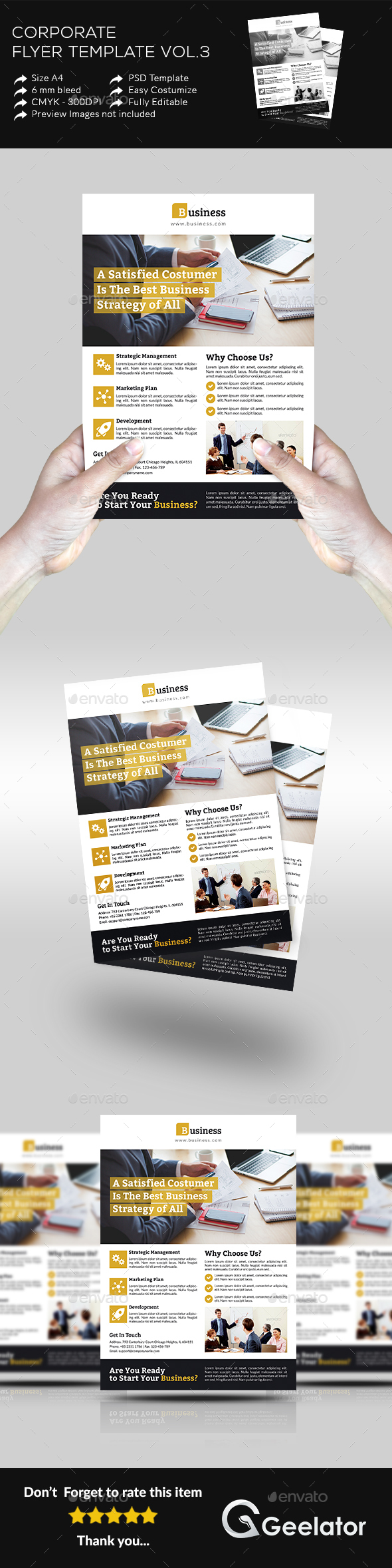 Corporate Flyer Template Vol 3 - Corporate Flyers