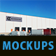 Eight Pack Warehouse Mockups - GraphicRiver Item for Sale