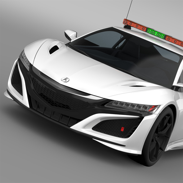 Acura NSX Safety Car 2016 - 3DOcean Item for Sale