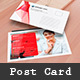 Shape Post Card Template - GraphicRiver Item for Sale