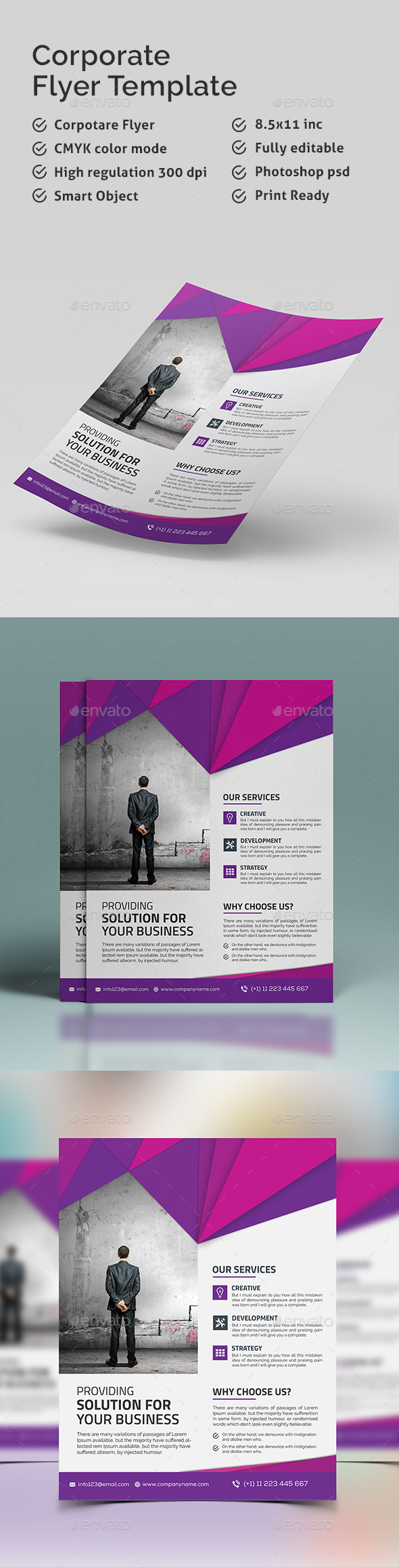 Colorful Corporate Flyer - Corporate Flyers
