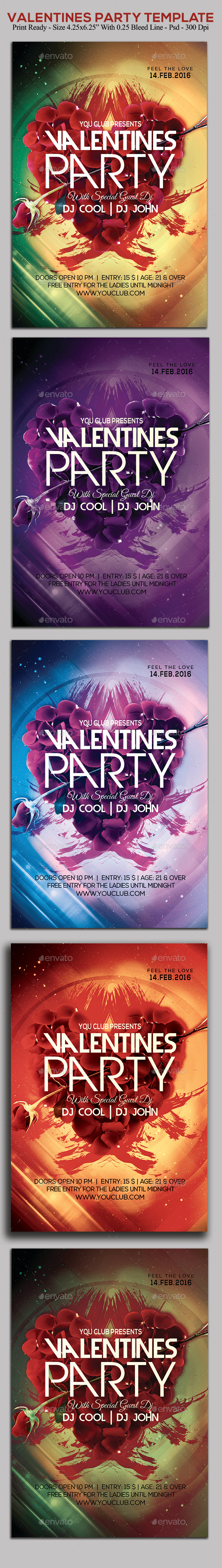 Valentines Party - Clubs & Parties Events