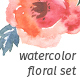 Watercolor Floral Set - GraphicRiver Item for Sale