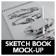 Sketch Book Mock-up - GraphicRiver Item for Sale