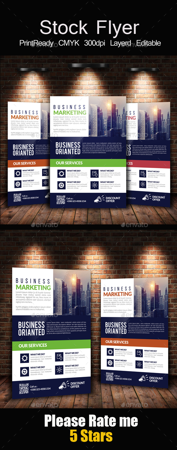 Contemporary Residence Flyer Template - Corporate Flyers