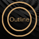 Outline-Creative font - GraphicRiver Item for Sale