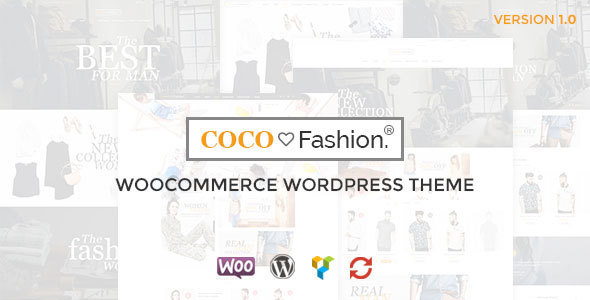 Coco – Fashion Responsive WordPress Theme