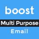 Multi Purpose E-Newsletter PSD Template - Boost - GraphicRiver Item for Sale