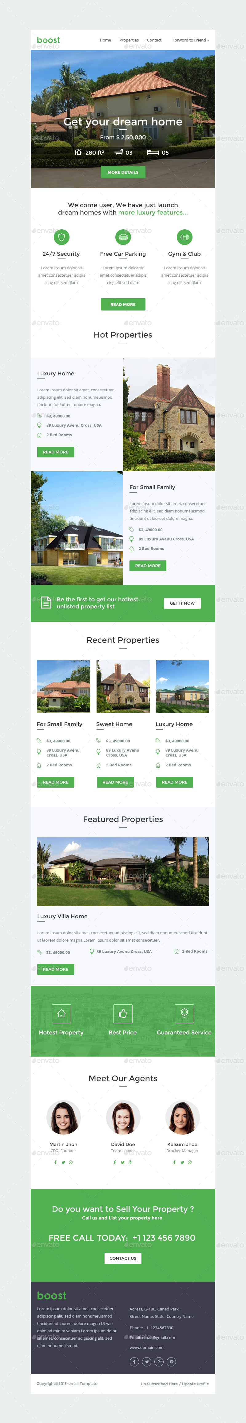 real estate e newsletters