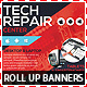 Tech Repair Center Roll Up Banners - GraphicRiver Item for Sale
