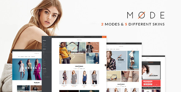 Mode – Modern Fashion WooCommerce WordPress Theme