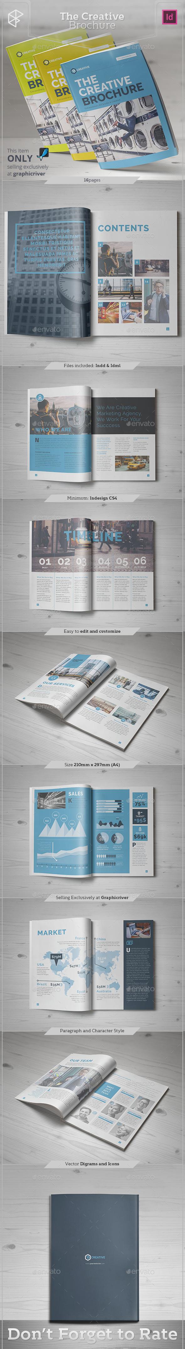 The Creative Brochure - Informational Brochures